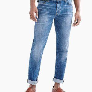 J Crew Straight-fit flex jean in medium wash